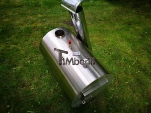 Outside round stainless steel heater for hot tubs 8