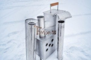 Snorkel heater for hot tubs