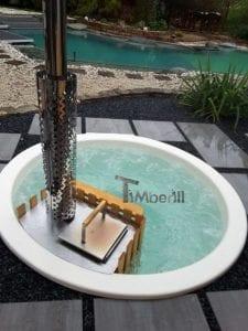Sunken patio hot tub jacuzzi 8