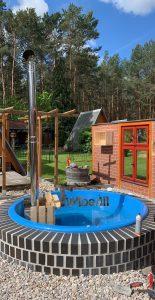 Wellness hot tub with internal burner 1
