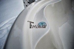 Wood fired hot tub with fiberglass lining Wellness Royal 6