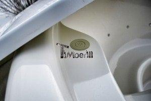 Wood fired hot tub with fiberglass lining Wellness Royal 7