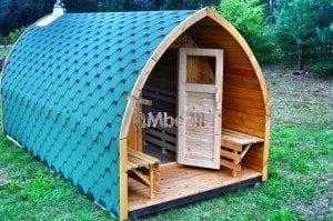 Iglu Garden Sauna TimberIN 8