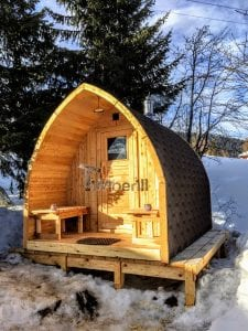 Outdoor Garden Sauna Igloo Design 1 1