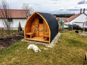 Outdoor Garden Sauna Igloo Design 1 8