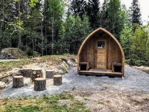 Outdoor Garden Sauna Igloo Design 2 3