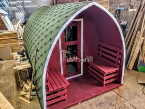 Outdoor Garden Sauna Igloo Design 2 6