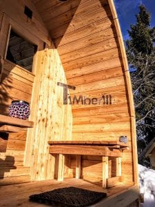 Outdoor Garden Sauna Igloo Design 3 1