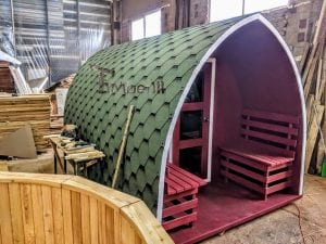 Outdoor Garden Sauna Igloo Design 3 6