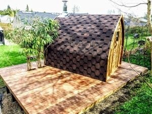 Outdoor Garden Sauna Igloo Design 4 4