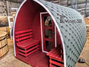 Outdoor Garden Sauna Igloo Design 4 6