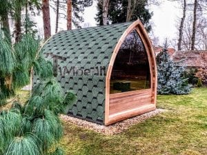 Outdoor Garden Sauna Igloo Design 5