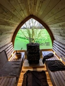 Outdoor Garden Sauna Igloo Design 8