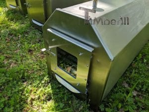 External Wood Burner Up to 60 kW for Pools 18