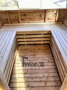 Outdoor Barrel Round Sauna 20 1
