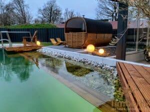 Outdoor wood burning sauna 3