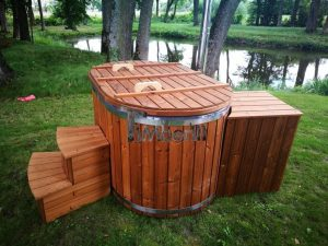 Ofuro outdoor spa for 2 persons 1