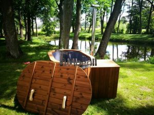 Ofuro outdoor spa for 2 persons 16