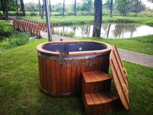 Ofuro outdoor spa for 2 persons 25