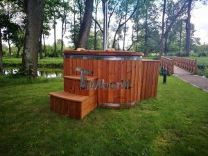 Ofuro outdoor spa for 2 persons 5