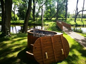 Ofuro outdoor spa for 2 persons 7