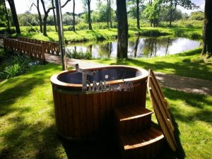 Ofuro outdoor spa for 2 persons 9