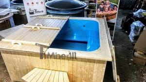 Outdoor electric hot tub timberin 1