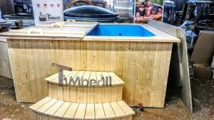 Outdoor electric hot tub timberin 12