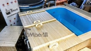 Outdoor electric hot tub timberin 8