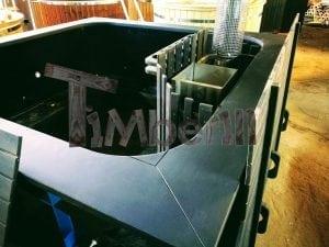 Rectangular hot tub polypropylene lined with snorkel heater 12