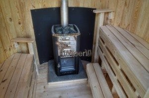 Wooden vertical sauna Harvia 15