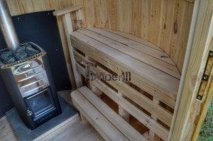 Wooden vertical sauna Harvia 16