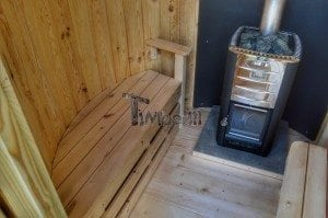 Wooden vertical sauna Harvia 17