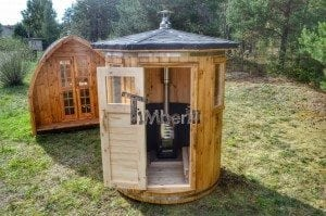 Wooden vertical sauna Harvia 2