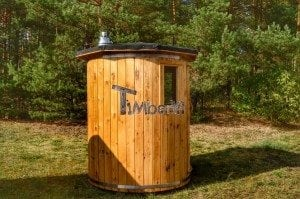 Wooden vertical sauna Harvia 4
