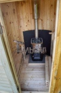 Wooden vertical sauna Harvia 8