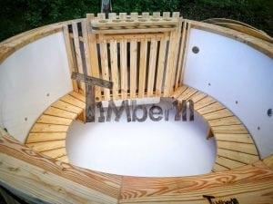 Exterior Hottub plastic lined SET Including Massage 2 LED 20