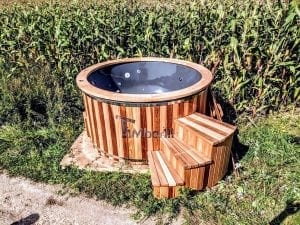 Electric outdoor hot tub Wellness Conical 1 1