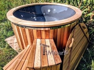 Electric outdoor hot tub Wellness Conical 10 1