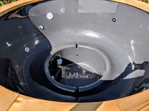 Electric outdoor hot tub Wellness Conical 11 1