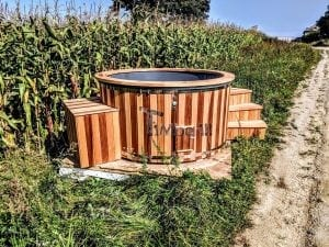 Electric outdoor hot tub Wellness Conical 13 1