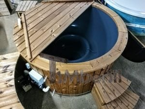 Electric outdoor hot tub Wellness Conical 13