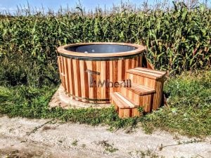 Electric outdoor hot tub Wellness Conical 17 1