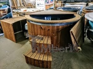 Electric outdoor hot tub Wellness Conical 17