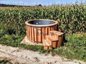 Electric outdoor hot tub Wellness Conical 18 1