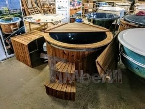 Electric outdoor hot tub Wellness Conical 19