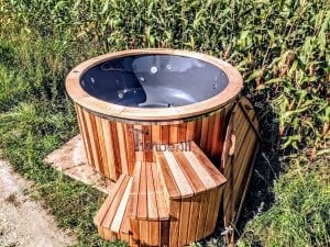 Electric outdoor hot tub Wellness Conical 2 1
