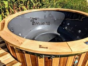 Electric outdoor hot tub Wellness Conical 23