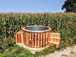 Electric outdoor hot tub Wellness Conical 26