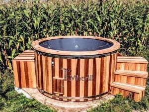 Electric outdoor hot tub Wellness Conical 28
